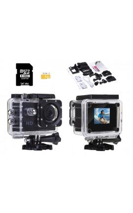 EKO - Caméra sport 720P avec accessoires