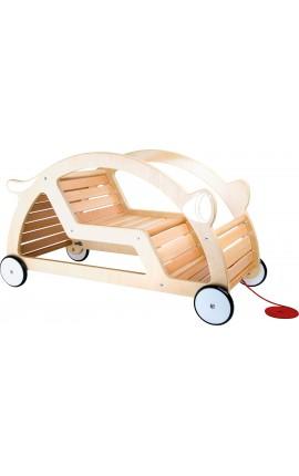 Chariot en bois à tirer ou à bascule