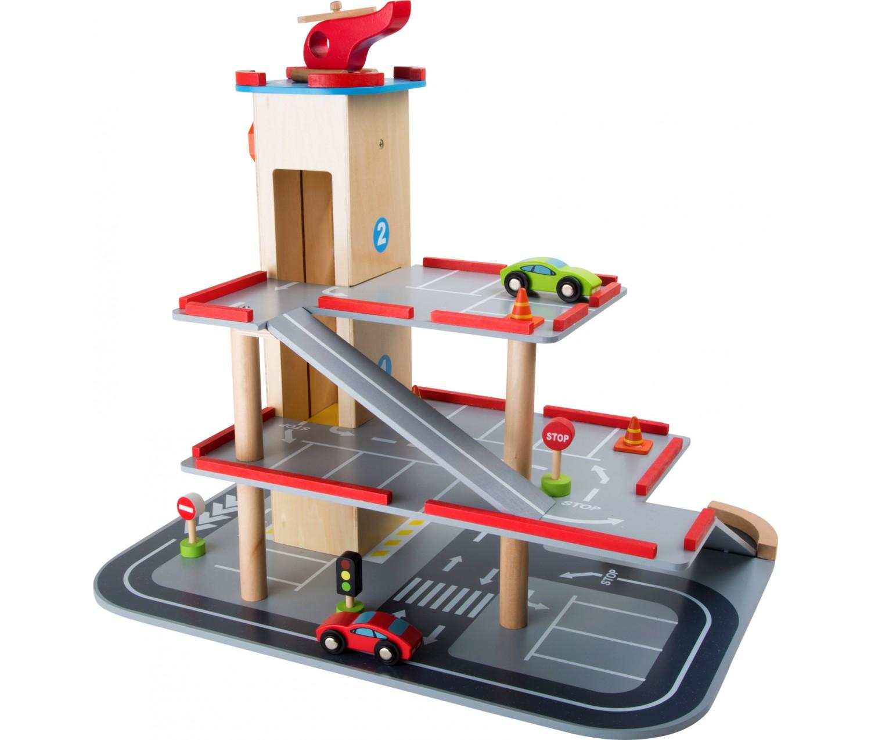 garage bois jouet