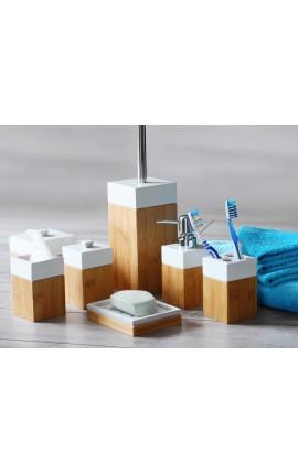 Accessoires salle de bain en bambou MK Bamboo PARIS