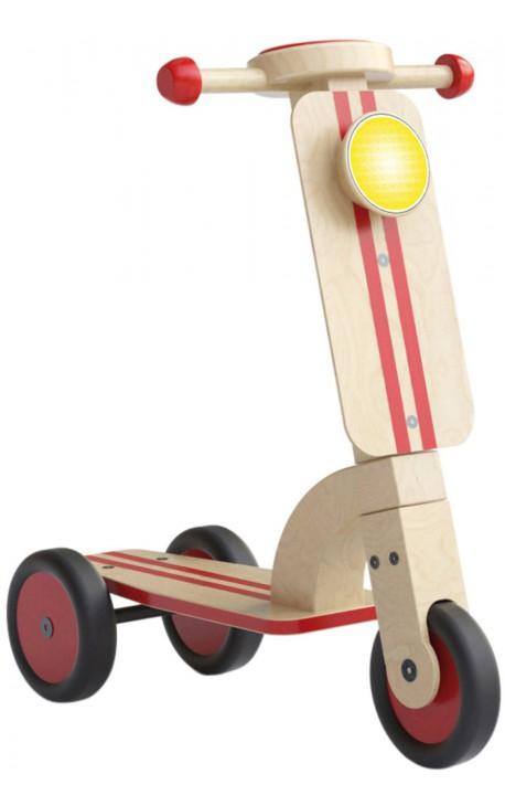 Trottinette en bois 3 roues ~ Trotinette Bois