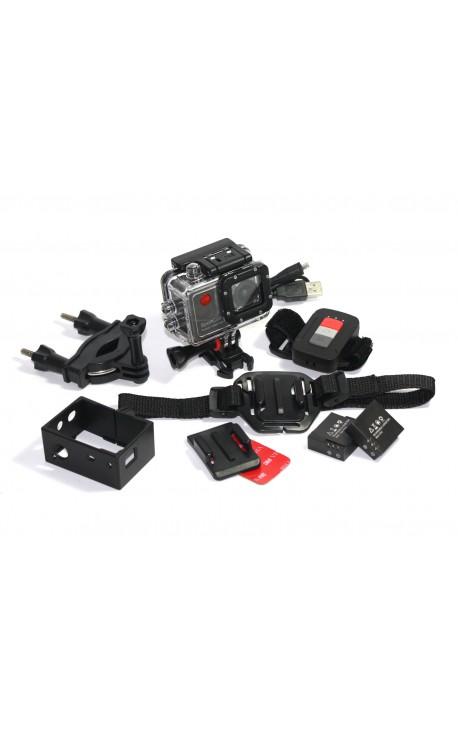 Caméra Action WiFi Reekin SportCam2 FullHD 1080P - achat groupé, réduction