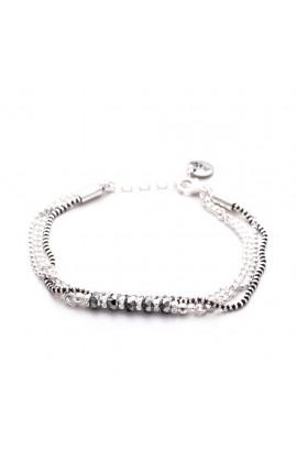 Bracelet artisanal argent Achroumi ZO&TI