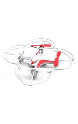 Drone commande vocale D4V DIYI 2.4G 5 canaux et Gyro (blanc)